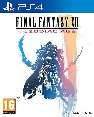 PS4 Game Final Fantasy 12 XII the Zodiac Age New