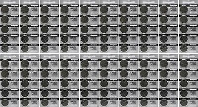 Lot of 100 PC ENERGIZER CR2032 WATCH BATTERIES 3V LITHIUM CR 2032 DL2032 BR2032