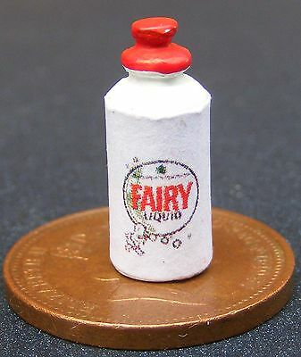 1:12 Scale Solid Fairy Liquid Washing Up Bottle Dolls House Kitchen Accessory