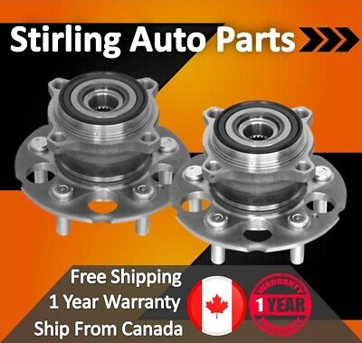 2014 2015 2016 For GMC Sierra 2500 HD Front Wheel Bearing & Hub Assembly x2 SRW