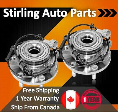 2011 2012 2013 For GMC Sierra 2500 HD Front Wheel Bearing & Hub Assembly x2 SRW