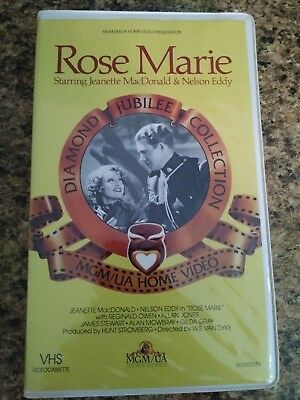 Rose Marie - Rare* (VHS, 1985)
