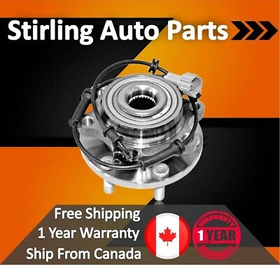 2014 For Chevrolet Silverado 2500 HD Front Wheel Bearing and Hub Assembly x1 SRW