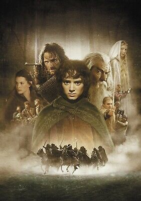 LORD OF THE RINGS; FELLOWSHIP OF THE RING Movie PHOTO Print POSTER Film Art 001