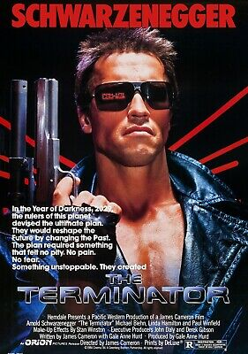 TERMINATOR Movie PHOTO Print POSTER Classic Film Art Arnold Schwarzenegger 001