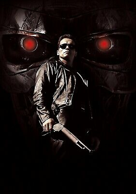 TERMINATOR 2; JUDGEMENT DAY Movie PHOTO Print POSTER Arnold Schwarzenegger 002