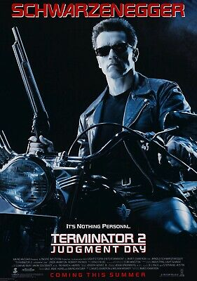 TERMINATOR 2; JUDGEMENT DAY Movie PHOTO Print POSTER Arnold Schwarzenegger 008