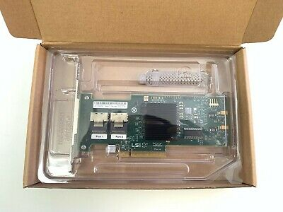 New IT Mode Genuine LSI 9211-8i 8-port PCI-E Controller Card  US seller