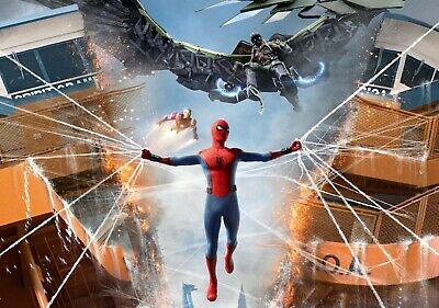 SPIDER-MAN; HOMECOMING Movie PHOTO Print POSTER Tom Holland Marvel Vulture 006