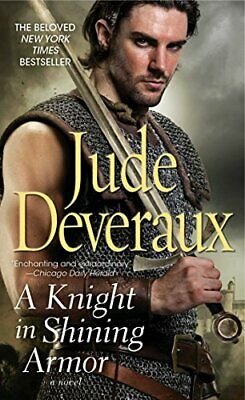 A Knight in Shining Armor by Deveraux, Jude Paperback Book The Cheap Fast Free