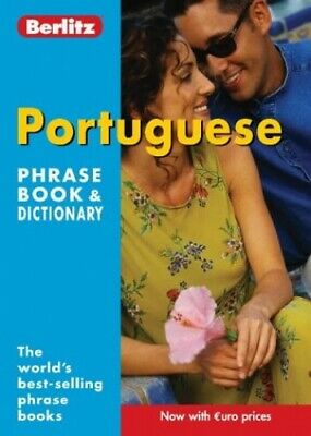 Portuguese Berlitz Phrase Book and Dictionary (Berlitz P... by Unknown Paperback