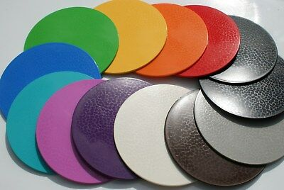 Dishwasher safe place mats and coasters. Rainbow + MORE colours. Intech Gecko.