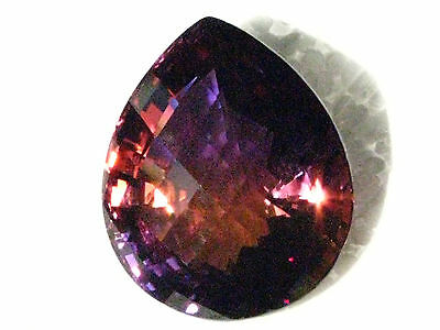 95.38 Carat Natural Bolivian Ametrine - Eye Clean, Checkerboard  Cut