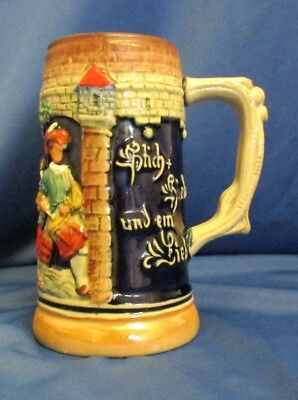 Vintage Retro Zoller Born West German Germany Stein Small Music Lovers Unusual