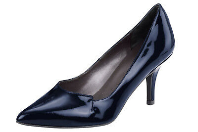 Pumps Heine. Rind-Lackleder, marine NEU!!! KP 119,90 € SALE%%%