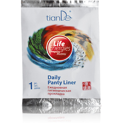 TianDe Eco Herbal Pads Life Energies Daily Panty Liner 10pc