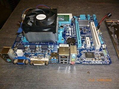 PC Aufrüst-Kit AMD Quad-Core A6-3650, Mainboard GA-A75M-DS2, 4GB DDR3