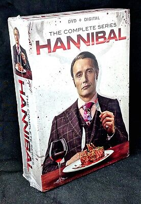 Hannibal ~ The Complete Series Collection Season 1, 2, 3 NEW SEALED DVD BOX SET