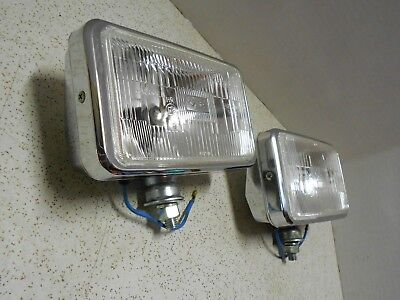 Grote Jumbo Halogen Driving Lights w/ Protector Covers