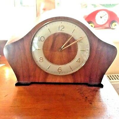 In Exceptional Condition Fully Working Art Deco Chiming Mantle Clock