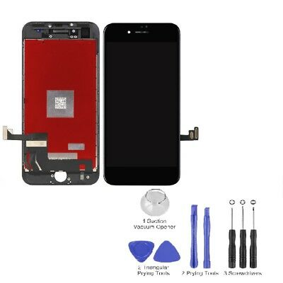 """For iPhone 8 4.7"""" New Black LCD Touch Screen Digitizer Assembly Replacement USA"""