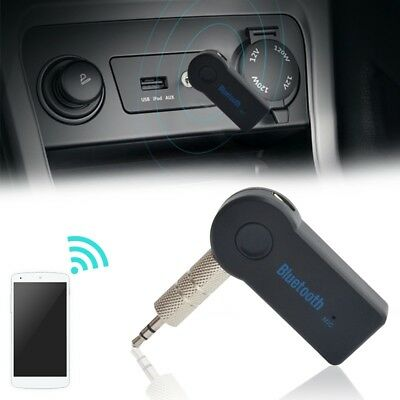 Wireless Bluetooth 3.5mm AUX Audio Stereo Music Car Receiver Adapter NEW