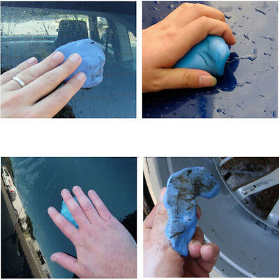 Auto Care Magic Car Clean Clay Bar Auto Detailing Cleaner Washer Blu New