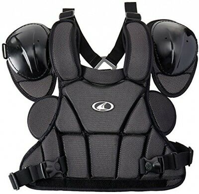 Champro Pro Plus Umpire Chest Protector (Black, Medium)