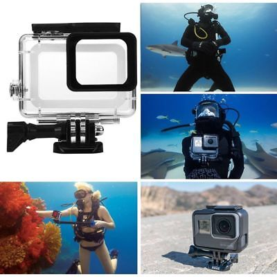 For GoPro Hero 5/6 Black Camera Accessories 45m Diving Waterproof Housing Case
