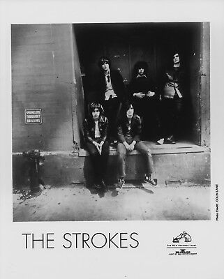 RARE The Strokes Rock n Roll 8x10 Glossy Photo