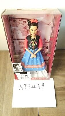 Frida Kahlo Barbie Doll Inspiring Women Series Mexican Artist NEW Ready to Ship!