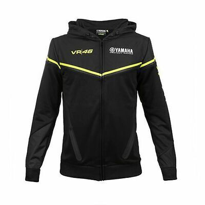 VR46 Official Valentino Rossi 2018 Black Yamaha Hoodie - YKMFL 315704
