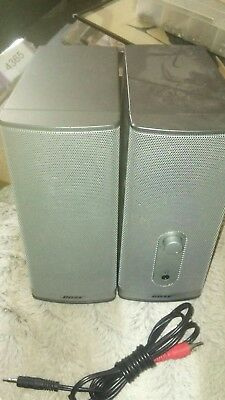 Bose Companion 2 Series ii Computer Speakers No Power Supply