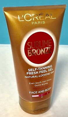 L'Oreal Paris Sublime Bronze Self-Tanning Fresh Feel Gel Medium Tan 150ml
