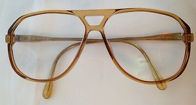 Vintage Terri Brogan 8838 11 59/12 Double Bridge Men's Optyl lcm Eyeglass Frame