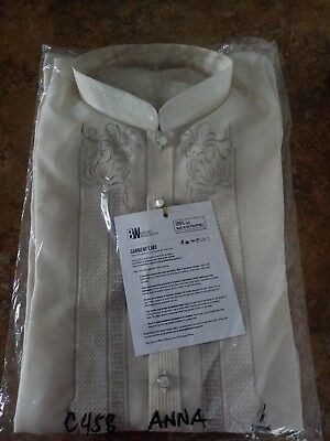 Barong Tagolog Mens Size Large - Brand New in Package