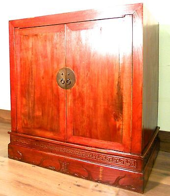 Antique Chinese Carved Cabinet (5669), Circa 1800-1849