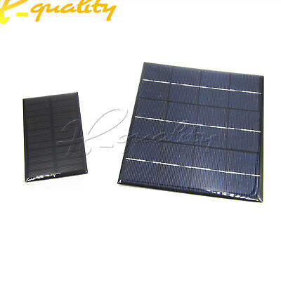 High Conversion Rate Solar Panels 6V 1W/3.5W Battery Charging Solar Panel