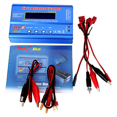 IMAX B6 LCD Digital RC Battery Balance Charger Lipo / Lion / LiFe / Nicd / NiMH