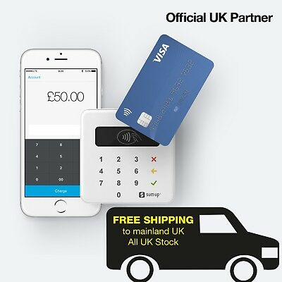 UK Official Partner Brand New SumUp Chip & Pin / Contactless Reader AIR FREE P&P
