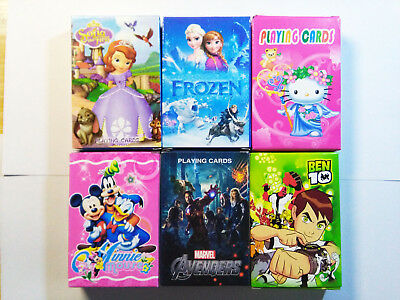 Childrens Kids Party Favors Cartoon Princess Playing Cards Gifts