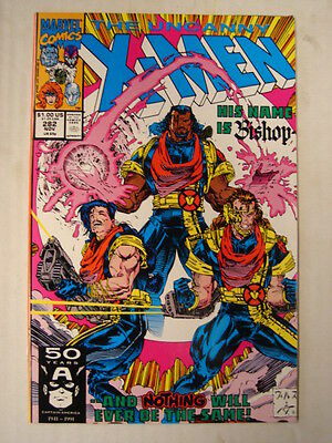 X-Men Uncanny #282 Marvel 1St App Bishop Few Pannels November 1991