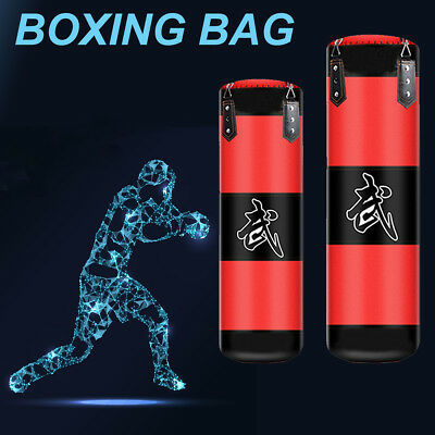 Unfilled Punching Bag Heavy Duty Energetic Kicking Training Martial Boxing Pad