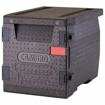 Cambro EPP300110 Black Cam GoBox Front Loading Catering Box