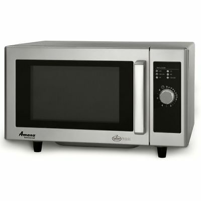 Amana Commercial RMS10DS Low Volume 1000 Watt Microwave Oven