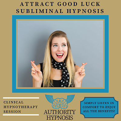 Attract Good Luck Hypnosis, Good Life Fortune, Create Positive Outcomes