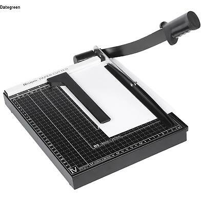 HOMDOX Heavy Duty Photo Paper Cutter Guillotine Card Trimmer Ruler Home Office