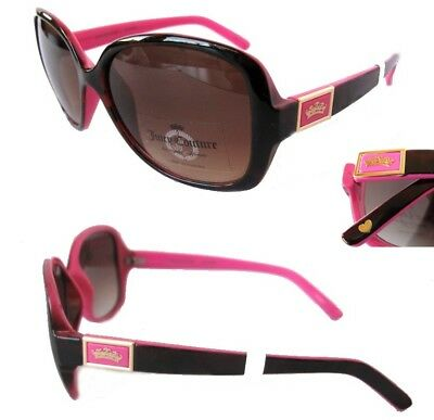 NWT Juicy Couture Womens Sunglasses WJC71SG01 Brown-Pink/Brown