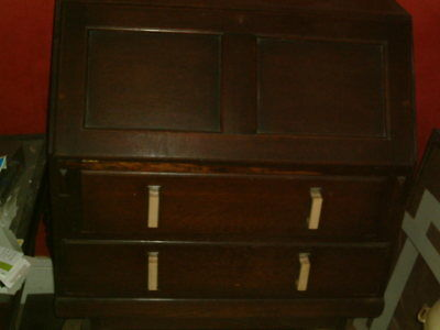 Writing bureaux 2 drawer 1950s 1960s Collect from Hastings.