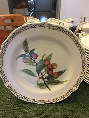 "Noritake Primachina Royal Orchard # 9416 Salad Plates 8.50"" Excellent Condition"